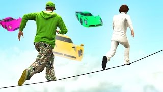 MOST IMPOSSIBLE DEATHRUN EVER! (GTA 5 Funny Moments)
