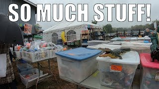 The LARGEST Rummage Yard Sale In America! Look What I Bought!