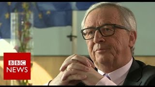 "EU not in ""hostile mood"" on Brexit says Juncker - BBC News"