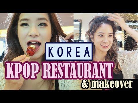 Going to a KPOP Cafe & Kpop Makeup & Hair Transformation   KPOP Day Part 1