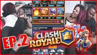 FIGHT BREAKS OUT BETWEEN HUSBAND & WIFE! - Clash Royale Ep.2