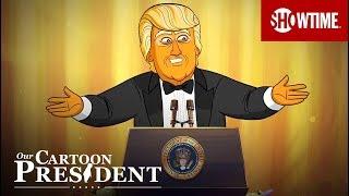 Our Cartoon President Addresses the White House Correspondents