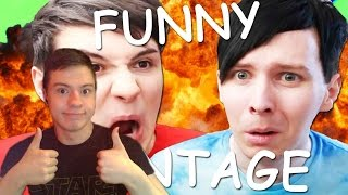 Fordy Reacts to: Funny Gaming Montage by Dan and Phil