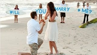 Best Proposals in an Hollywood Movie