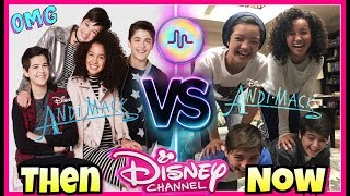 Andi Mack First VS Last Musical.ly Compilation   Disney Stars Then And Now Musically 2017
