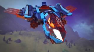 LEGO® NEXO KNIGHTS™ - 70351 Avionul Falcon Blaster al lui Clay + 70364 Costum de luptă - Aaron