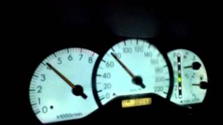 Toyota Corolla NZE 2002 0-60MPH(0-100Km/h)