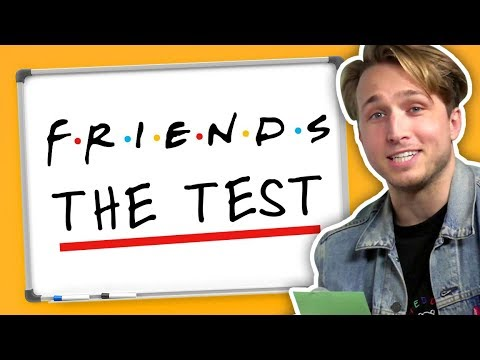 WE TAKE THE TEST FROM FRIENDS Squad Vlogs