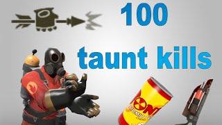 TF2: 100 taunt kills montage (2015)