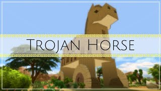 Trojan Horse | The Sims 4 speed build