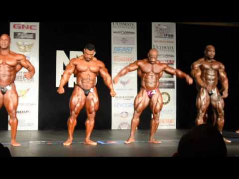 2016 IFBB NY PRO MEN s Bodybuilding Prejudging First Callout