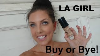 Affordable drugstore First Impression LA Girl Pro Coverage Foundation