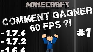 Augmenter ses FPS Minecraft [+60 FPS] [1.8.1,1.8,1.7.4 et 1.7.2] - Windows 8/7/Vista/XP | MrLeaderHD