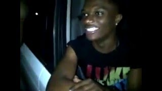 Watch StarBoy WizKid Performing Mad Freestyle in Surulere, Lagos!
