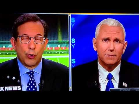 Even Fox News Can t Stay Silent Mike Pence Interview