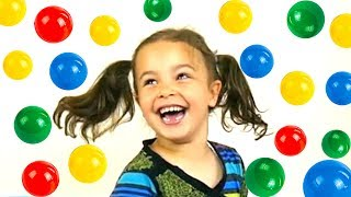 Kids Playground, Slide, Ball pit balls, Fun Indoor  Playground Disney Kid Toys