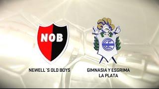Fútbol en vivo. Newell's vs. Gimnasia LP. Fecha 6. Torneo de Primera División 2016/2017. FPT
