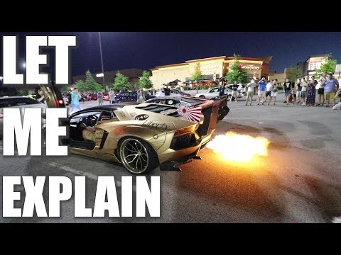 Supercar Rallies destroy Supercars