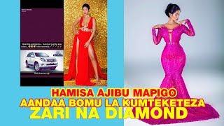 HAMISA MOBETO Ajibu mapigo ya DIAMOND PLATNUMZ Aandaa BOMU la kumteketeza ZARI