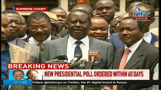 Raila Odinga: This is a historic moment for Kenya and Africa