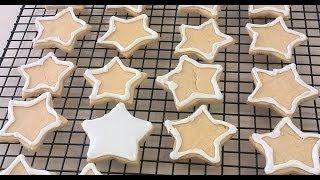 Make Sugar Cookies and Decorate with Wilton Color Flow Icing