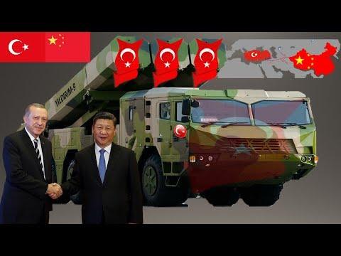 NATO ŞOKTA TÜRKIYE VE ÇIN KITALAR ARASI FÜZE YAPTI.