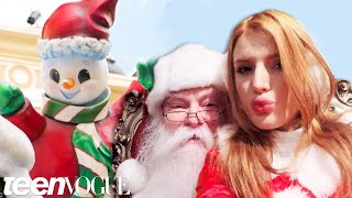 Pulling Pranks with Bella Thorne at The Grove in Los Angeles—Teen Vogue's The Cover