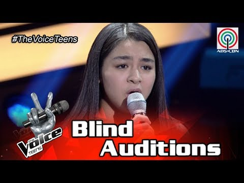 The Voice Teens Philippines Blind Audition: Bea Munoz - Moon River