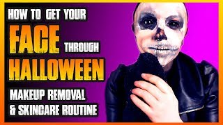 How to Get Your Face Through Halloween- Skincare Routine