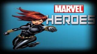 Marvel Heroes Online Closed Beta BLACK WIDOW GamePlay /W KillerKev