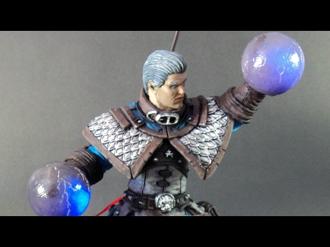 Sculpting Archmage Khadgar from World of Warcraft