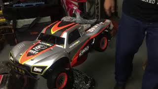 BOTAJELL & GARY RC Unboxing New LOSI 5IVE T @ 1AM Any Questions?
