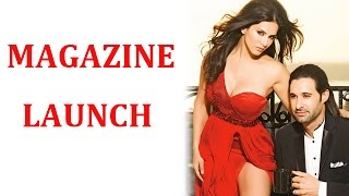 Sunny Leone with her husband Daniel Weber at her magazine coverpage launch | EXCLUSIVE