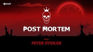 Post-mortem with Peter Svidler: Svidler-Inarkiev