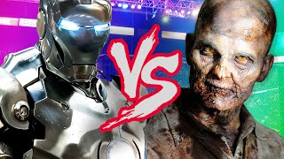 ROBOT VS ZOMBIE | Ben And Ed #5
