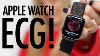 Testing the new Apple Watch ECG!