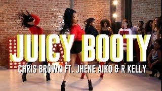 Juicy Booty | Chris Brown Ft. Jhene Aiko & R Kelly | Aliya Janell Heels Choreography