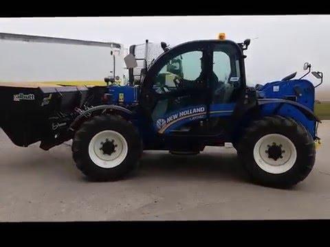 C&O Tractors demo New Holland LM 7.42 Telehandler