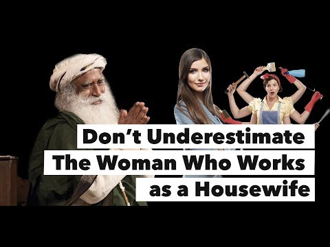 Housewife vs Corporate Woman Which is Better ? - Sadhguru on Woman Leadership   Mystics of India