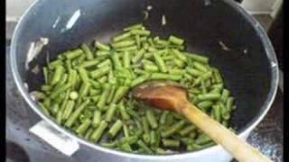 Iran food Lubia polo لوبیا پلو ایرانی