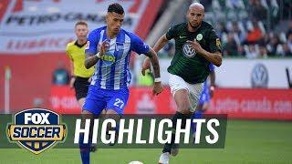 VfL Wolfsburg vs Hertha BSC Berlin | 2018-19 Bundesliga Highlights