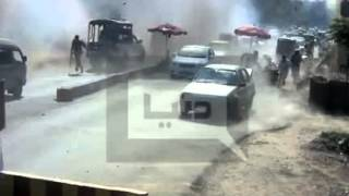 CCTV Live Footage | Bomb Blast Peshawar | 19 jan 2016