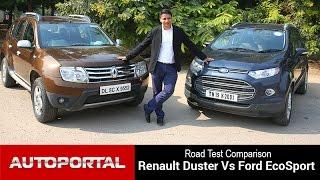 Renault Duster Vs Ford EcoSport Test Drive Comparison - Autoportal