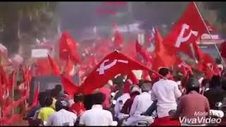 ചെങ്ങന്നൂർ LDF സ്ഥാനാർഥി സജി ചെറിയാൻ.