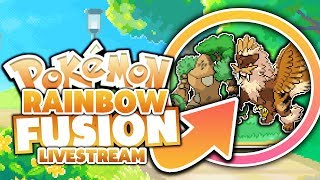 AMAZING ROM HACK! Pokemon Rainbow Rom Hack - Livestream