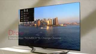2013 LG Cinema 3D Smart TV Intro