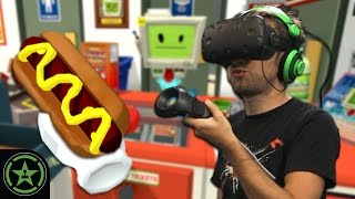 VR the Champions – Job Simulator: Store Clerk