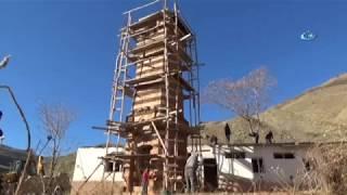 118 Yıllık Tarihi Saat Kulesi Restore Ediliyor