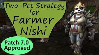 Farmer Nishi in Patch 7.1: Two-Pet WoW Pet Battle Guide