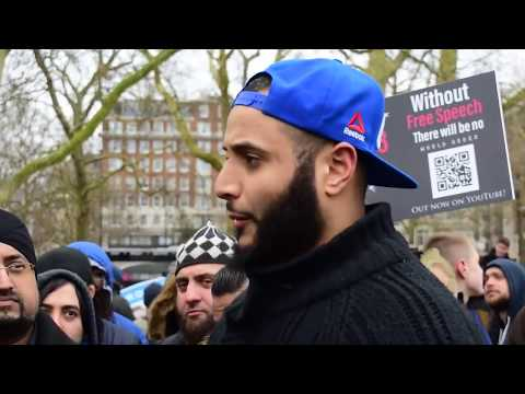 Xxx Mp4 Muslim Addresses Tommy Robinson Supporters In Speakers Corner 3gp Sex